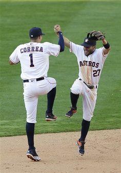 Carlos Correa & José Altuve