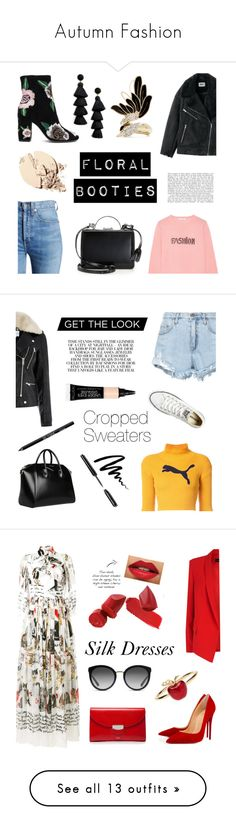 """Autumn Fashion"" by elysiane ❤ liked on Polyvore featuring Bella Freud, RE/DONE, Rebecca Minkoff, Mark Cross, Lanvin, BaubleBar, Puma, Nobody Denim, Converse and Warehouse"