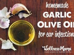 Homemade garlic olive oil for ear infections 365x274 Garlic Olive Oil for Ear Infection