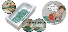 Bath Tub  Non Slip Mat for kids and adults by GatorGrip on Etsy, $39.99