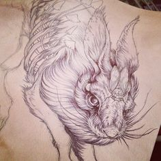 .@caitlin_hackett | Tattoo commission wip