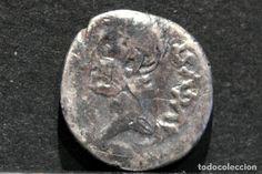 QUINARIO EMÉRITA AUGUSTA  (25-22 A.C.) AUGUSTO MÉRIDA