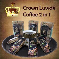 2 In 1 Crown Luwak Coffee  Kemasan Isi 6 22 Gram X 6 = 132 Gram Untuk 6 Gelas  Komposisi : Kopi Luwak Dan Gula Putih ( Kemasan Dalam Terpisah )  Expired : 2 Tahun   #kopi #luwak #arabika #kopiluwak #2in1 #coffee #coffeelover #coffeeindonesia #crown #coffeeluwak #luwaklover #crownluwak #oleholehbandung Crown Luwak Coffee @KartikaSari H. Akbar, Kebon Kawung Bandung
