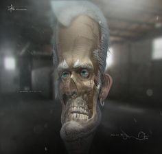 pencil neck, patricio (ninosboombox ) razo on ArtStation at https://www.artstation.com/artwork/KOg2B