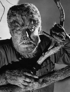 CLASSIC HORROR: The special effects then were so advanced. I loved the old old horror movies. Werewolf, the Mummy, Frankenstein, the Creature & Dracula. Lon Chaney as the Wolf Man. Retro Horror, Horror Icons, Vintage Horror, Classic Monster Movies, Classic Horror Movies, Classic Monsters, Horror Monsters, Scary Monsters, Famous Monsters