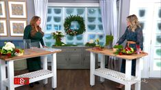 @ShirleyBovshow shared how to create her stunning DIY #holiday floral arrangement that will look fresh for months to come!