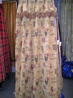 1397B Chenille Tapestry Style Curtains. :: Full Details - £275.00