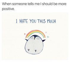 "6,590 Likes, 1,040 Comments - Andie Anderson (@humor_me_pink) on Instagram: ""Positively negative 🌈🖕🏼#monday"""