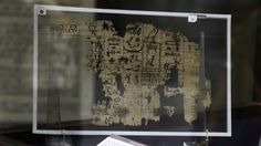 Egypt's oldest papyrus fragments, which detail the construction of the Great Pyramid of Giza, have gone on public display in Cairo.