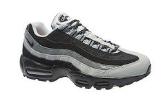 Nike Air Max 95 Essential Mens 749766-005 Black Grey Running Shoes Size 8