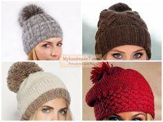 Вязание шапок с описанием. Отличные женские модели