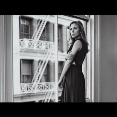 Cinematic beauty - Scarlett Johansson for WSJ Live