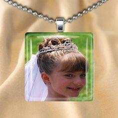 Custom Photo Jewelry Glass Pendant by LolasGlassPendants on Etsy, $12.00