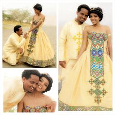 Swooning over this couple's traditional #wedding shoot on their destination wedding in #Ethiopia!! #Bellabrideafrica
