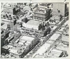 Canal and N Rampart St 1940's