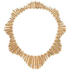 Diamond and gold undulating fringe necklace, Cartier Paris. Jewelry Box, Jewelery, Jewelry Accessories, Fine Jewelry, Jewelry Necklaces, Jewelry Design, Lotus Jewelry, Diamond Jewelry, Cartier Jewelry