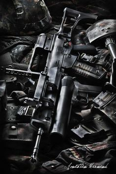 Heckler & Koch G36 with M320 Grenade Launcher // Photo captured by Jonathan Marmand