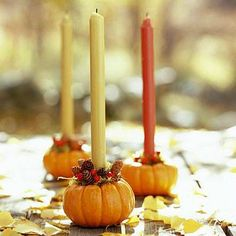 .These would be beautiful as center pieces at Thanksgiving dinner.