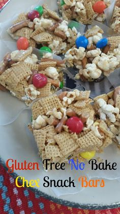 The Better Baker: Gluten Free No Bake Chex Snack Bars