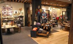 Timberland store display by Vermont Store Fixtures