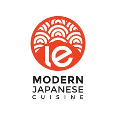 A contemporary logo design for a forthcoming Toronto Japanese restaurant. Pulling inspiration from traditional Japanese waves and the form of the rising sun, applying it in a modern fashion (as bes. Gfx Design, Food Logo Design, Logo Food, Custom Logo Design, Custom Logos, Branding Design, Logo Inspiration, Sunny Logo, Japan Logo