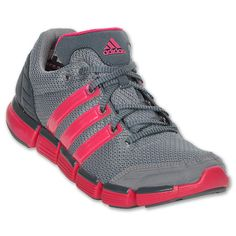 adidas ClimaCool Chill Women's Running Shoe  | FinishLine.com | Grey/Pink/Graphite