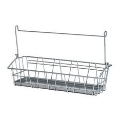 BYGEL Wire basket, silver color silver color 13x3 7/8