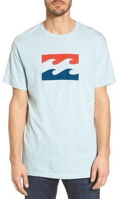 Billabong Wave Graphic T-Shirt Billabong, Polo Ralph Lauren, Nordstrom, Waves, Mens Tops, T Shirt, Style, Supreme T Shirt, Swag