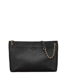 e073d3d6d39 TORY BURCH MCGRAW CHAIN-SHOULDER SLOUCHY TOTE.  toryburch  bags  shoulder  bags