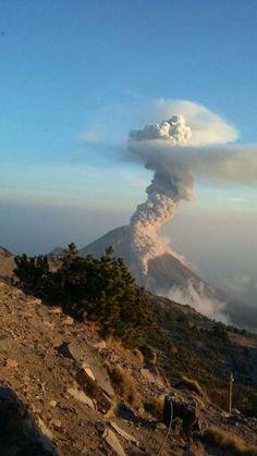 Volcan de Fuego de Colima, Mexico