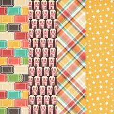 Free Showtime Paper Pack from Harper Finch