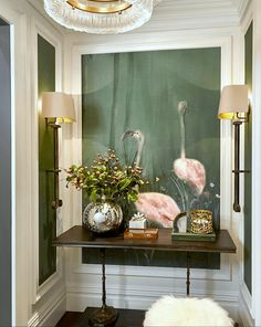 The Guaranteed Way To A Beautiful Room (It's Not The Wall Color) – Earnestine Foyer Decorating, Interior Decorating, Wall Spaces, Living Spaces, Inspiration Wand, Halls, Staining Cabinets, Cabinet Stain, Entry Foyer