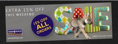 **Deal of the Week** Save  an Extra 15% Off All Orders at www.fish4dogs.com Ends 06-07-17 #FishFriday.  #Fish4DogsOffers #CatchOfTheDay