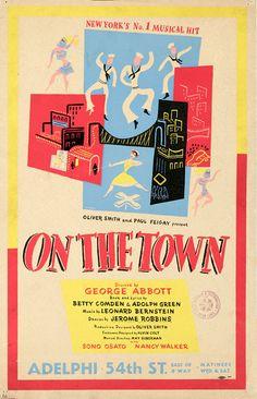 On the Town, New-York Historical Society. Nancy Walker, Jerome Robbins, Leonard Bernstein, New York Homes, Historical Society, World War Two, Wwii, Nyc, World War Ii