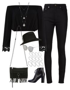 """Untitled#3570"" by fashionnfacts ❤ liked on Polyvore featuring Yves Saint Laurent, Chanel, Rebecca Minkoff, Topshop, GANT, ASOS and Vince Camuto"