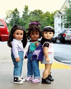 Ropa American Girl, Custom American Girl Dolls, American Girl Doll Pictures, American Doll Clothes, Girl Doll Clothes, Ag Dolls, Cute Dolls, American Girl Hairstyles, Narwhals