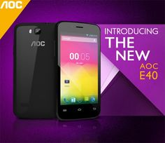 #AOC #E40 Unlatched for Indian Market as Entry-Level Smartphone