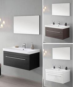 Mobiles on pinterest for Arredo bagno lavabo sospeso