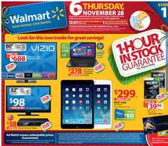 Walmart 2013 Black Friday Ad