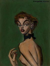A Girl Turning Around by Kuniyoshi Kaneko (1993)
