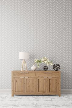 Herringbone simple Large Wall stencil - Herringbone stencil and Scandinavian stencil pattern for DIY projects - Wall stencils, Stencilit - Home Design Large Wall Stencil, Large Stencils, Wall Stenciling, Decoration Inspiration, Decoration Design, Decor Ideas, Expensive Wallpaper, Geometric Stencil, Geometric Wall