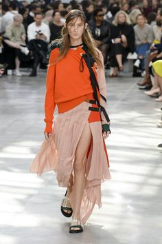 51ef8919c Sacai Spring 2019 Ready-to-Wear collection, runway looks, beauty, models