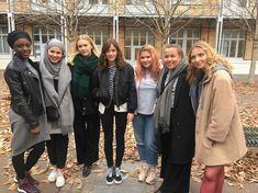 French cast with Iman Meskini, Josephine Frida Petersen and Ina  Svennigal