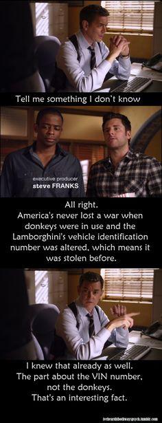 haha!  -Shawn and Gus is Drag (Racing)