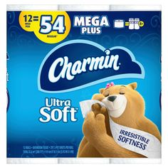Charmin Ultra Soft Toilet Paper, Family Mega Roll with Cushiony Touch, 338 Sheets Per Roll, 6 Count Bounty Paper Towels, Septic System, Irritable Bowel Syndrome, Pli, Machine Learning, Tissue Paper, Clean House, Toilet Paper, Walmart
