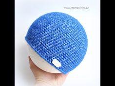 Krátké sloupky jsou krásný a unisexový vzoreček, ideální na jaro a podzim. Efektní jeansový vzhled dodá čepičce potřebný šmrnc. Crochet Basics, Ravelry, Coin Purse, Crochet Hats, Unisex, Purses, Mini, Free, Youtube