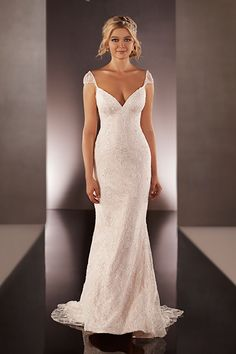 Gown by Martina Liana.Check out more gorgeous dresses in our Martina Liana wedding gown gallery ►