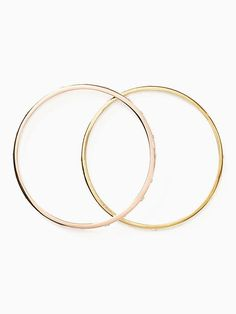 Kate Spade Stack Attack Bangle Set, Rose Gold