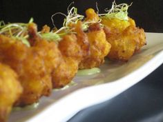 Tapa buñuelos de bacalao Reserva online para comer otros. EligeTuPlato.es