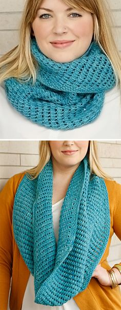 Free Knitting Pattern for Easy 2 Row Repeat Bar Hopping Cowl - This infinity scarf or neckwarmer is knit with a 2 row repeat that looks like a variation of the bamboo stitch. Two sizes, short and long. Designed by Denise Bell for Lost City Knits. Rated very easy by Ravelrers. Worsted weight yarn.